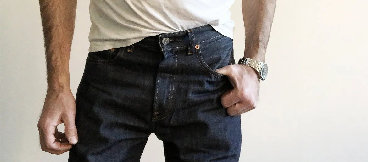 Getting the Right Size in Rigid, Shrink-To-Fit 501 Jeans