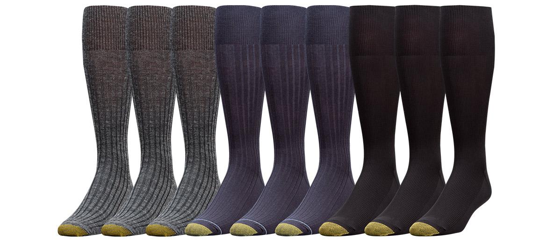 My Dress Socks? GoldToe.