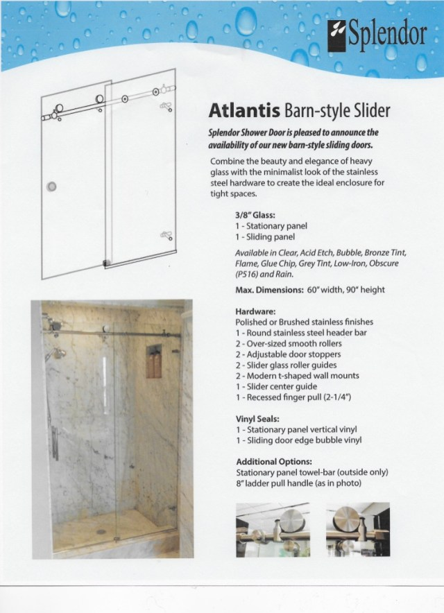 Barn Style Frameless Shower Doors Richmond Va Rva Shower Door