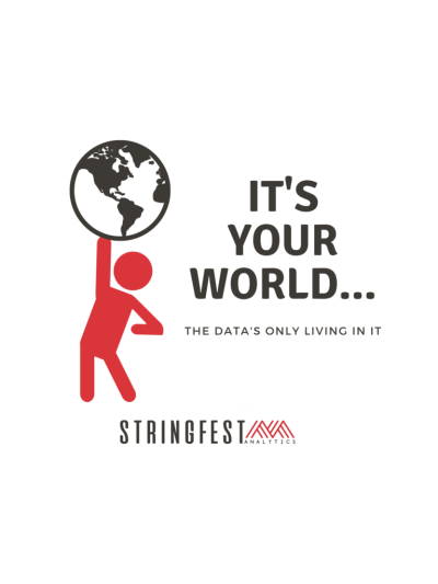 It's your world... the data's only living in it!   Quote