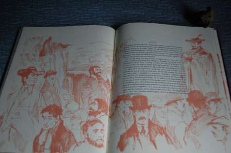 Page 57, 58 - Mozley's sketches adorn many pages of the text, and are simply wonderful.