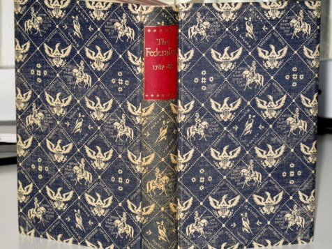 NY Heritage Binding - Well, this certainly is patriotic!
