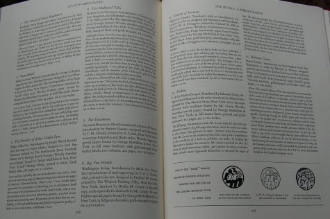 Pages 236-237 - Example of the Bibliography.