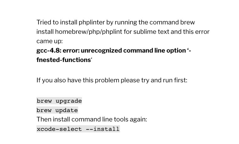 gcc-4 8: error: unrecognized command line option '-fnested