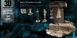 virtualworlds website 3D scanned reconstructions