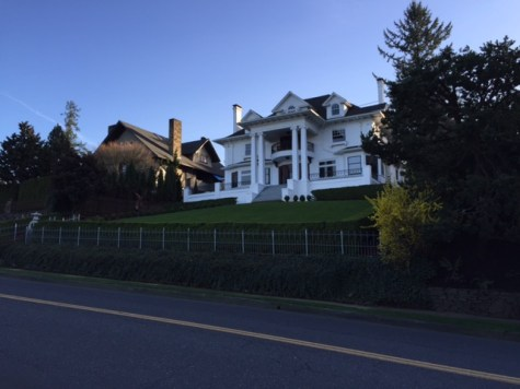 One of many mansions and grand homes along SW Vista Avenue..