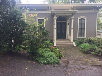 A home that once belonged to Oregon Territorial Gov. George Lee Curry now occupies a site on SW Cheltenham Court.