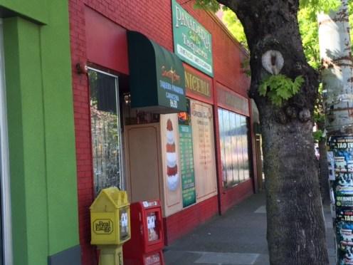 Tienda Santa Cruz encompasses a tacqueria, panaderia and market.