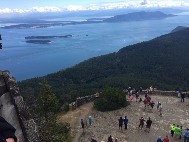 The view from Mount Constitution is simply spectacular.