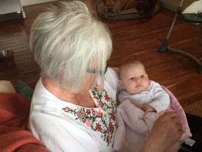 Lori and granddaughter Emalyn.