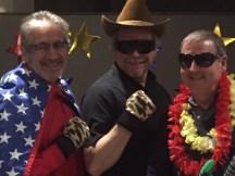 George, David and Eamonn.