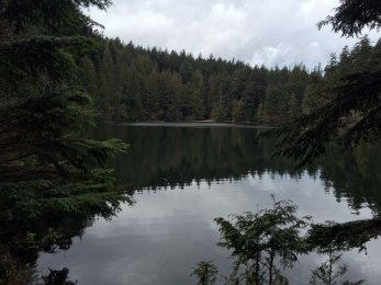 Sweet memories of a day hike to Big Twin, the larger of the Twin Lakes in Moran State Park.