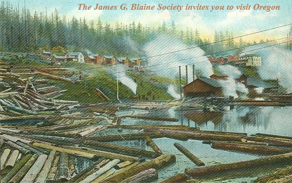 Oregon and California and James G. Blaine