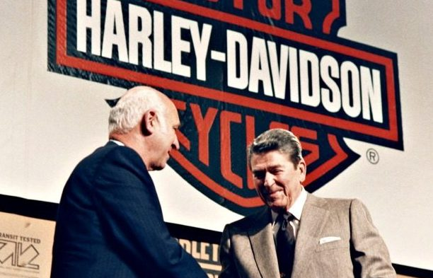 What Harley-Davidson Did with Its Tax Break