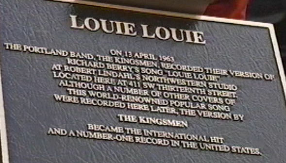 "The Ironic ""Louie Louie"""