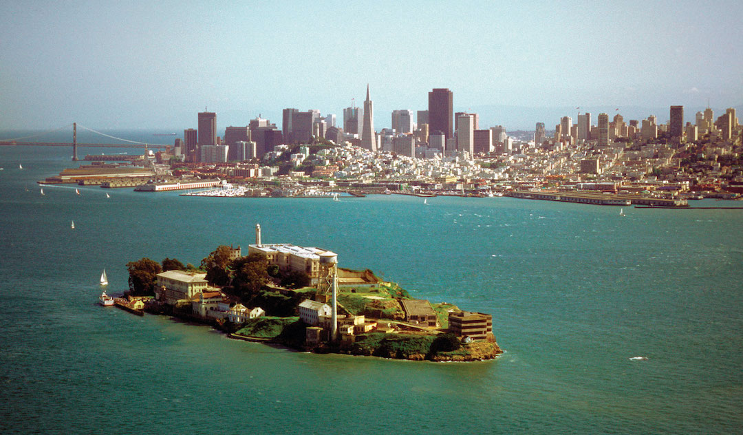 View from/to Alcatraz