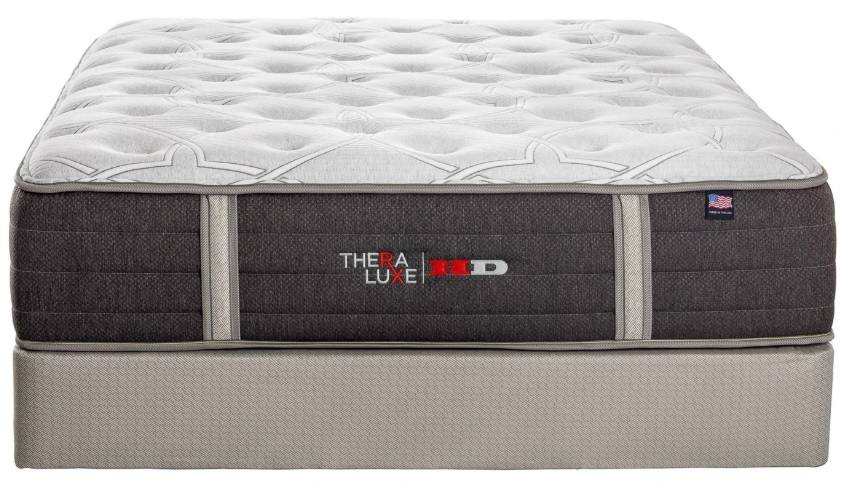 theraluxe hd olympic pillow top mattress by therapedic