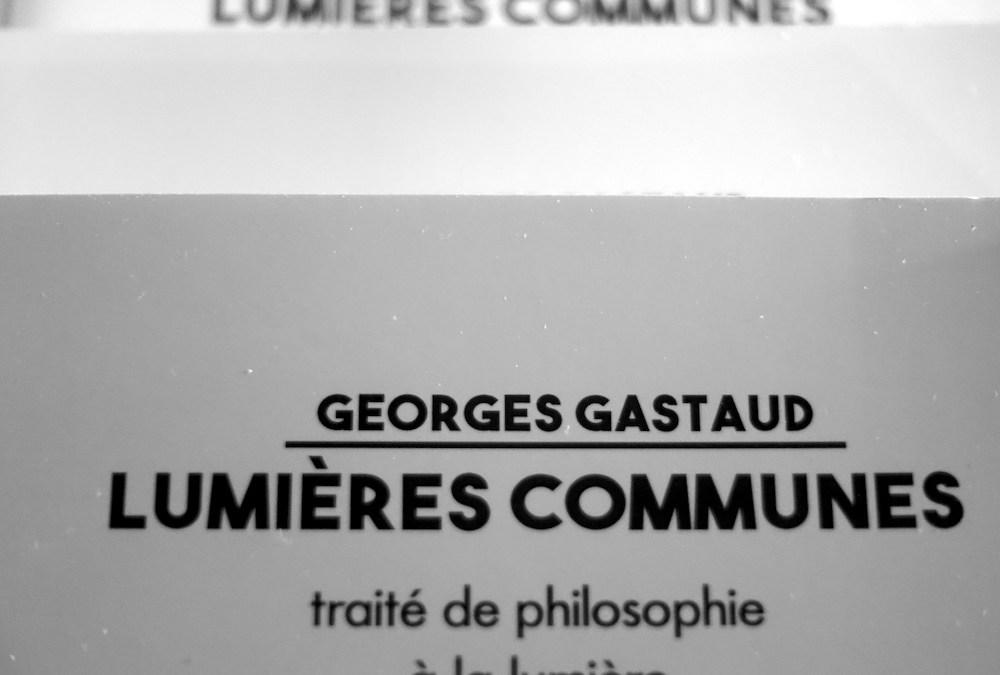REEDITION de LUMIERES COMMUNES