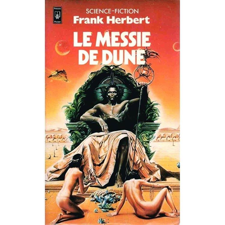 Je suis un messie. Le messie de Dune. Et tous? Vous etes mange spice Melange? regram @sf_cover #scifi #scifiart #scificovers #sciencefiction #cover #book #books #vintage #vintagecover #vintagescifi #paperback #geek #geekculture #geeky #geeks #fantasy #fx #futuristic #future #anticipation #frankherbert #dune #imperial #messie #messiah #atreides #galaxy #epic