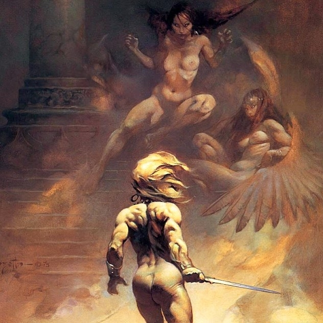These look like greek harpies to me. regram @frazettagirls Frank Frazetta's Paradox  Enjoy your weekend! <3 The Frazetta Girls #FrankFrazetta #Frazetta #StarWars #Fantasy #SciFi #Art #art #illustration #drawing #draw #picture #photography #artist #sketch #sketchbook #paper #pen #pencil #artsy #instaart #beautiful #instagood #gallery #masterpiece #creative #photooftheday #instaartist #artoftheday #harpies