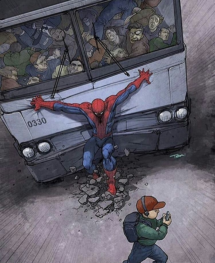 Breaking power. regram @mcg_venom @Regrann from @artbymarvel –  Kids today, don't know how to put away their phone 😂 – #art #marvelcomics #marvel #spiderman  #art #illustration #drawing #draw  #picture #photography #artist #sketch #sketchbook #paper #pen #pencil #artsy #instaart  #instagood #gallery #masterpiece #creative #photooftheday #instaartist #graphic #graphics #artoftheday