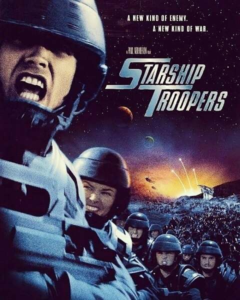 Best political movie ever. It has Zergs in it. regram @supersmoph24 Having a Sci Fi double bill… we start with Sci Fi Action, Pete's recommendation… #nowwatching #starshiptroopers #paulverhoeven #scifi #actionmovie #caspervandien #deniserichards #neilpatrickharris #cinephile #michaelironside #amysmart #ruemcclanahan #brendastrong #deannorris #timothyomundson #brucegray #bradkane