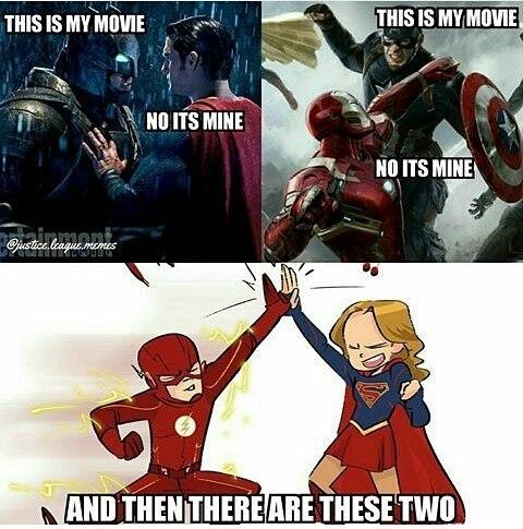 Accurate. regram @ninjahmad Who liked the supergirl & flash crossover? Leave a like for more  YouTube:NinjAhmad  Personal:@notninjahmad Partners(FOLLOW) @cawl_owf_dooty @its.kadra ✨ Tags(IGNORE): #ninjahmad #batman #joker #suicidesquad #teentitans #legendsoftomorrow #nightwing #youngjustice #henrycavill #benaffleck #deadpool #dawnofjustice #dcnation #barryallen #theflash #justiceleague #brucewayne #flash #arrow #dcuniverse #supergirl #marvel #gotham #superman #comics #dccomics #dc #wonderwoman #batmanvsuperman #superhero