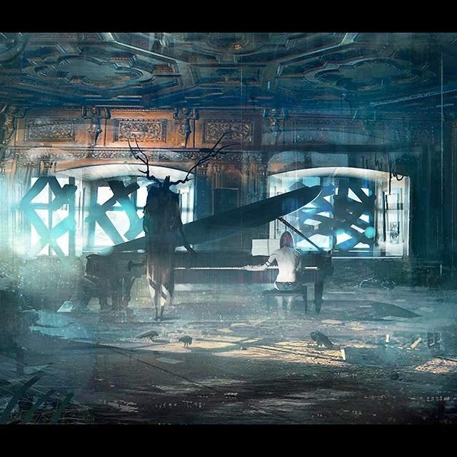 Omg! Stunning. regram @archifuture Dark presence  #piano #science #scifi #alien #architecture #archidaily #nerd #art #illustration #artist # ghost #sciencefiction  #instadaily #instagood #3d #render #archilover #future #travel #archifuture #city #fantascienza #stargate #3dmodeling #horror #concept #graphicart #digitalart #conceptart