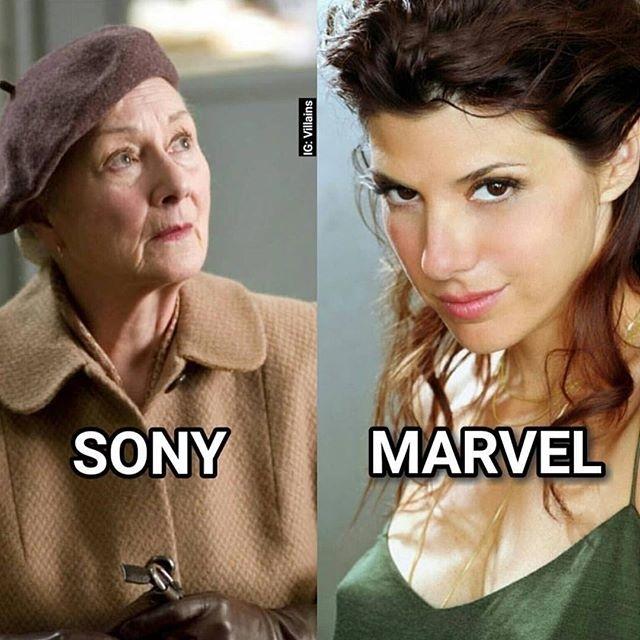 Aunt May, my what big… eyes you have. 😕 regram @avidgamerwear Marvel has the right idea. #blackpanther #civilwar #avengers #captainamerica #ironman #marvelcomics #comicbooks #comics #deadpool #wolverine #xmen #spiderman #spidergwen #hulk #cosplay #xbox #gamer #videogame #ps4 #gamergirl #70s #instadaily #instalike #igcomicfamily #movie #auntmay #thor