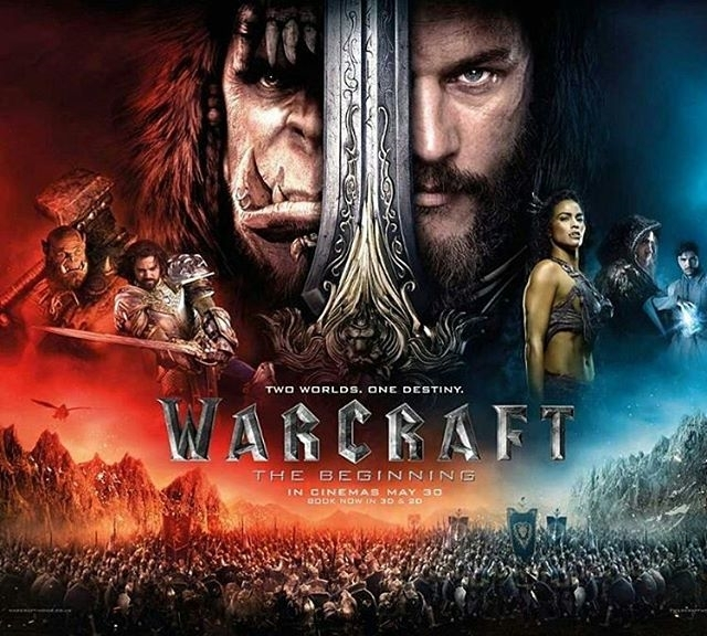 This was better than I thought. It was so serious and tragic at some points. Quite good. The effects are perfect, you can't tell the real stuff apart from cgi. But they were right to say that warcraft was so fixated on making a franchise, they forgot to make the first movie a good one. The end is a big set-up for the sequel. Mage boy was awesome. 😜  #warcraft #warcraftmovie #orc #humans #wow #gamer #videogame #pcgame #pcgamer #movies #unbuengeek #strategy #geek #venezuela #colombia #panama #miami #china