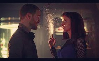 John kisses Lucy. -Lucy are you making sparks? -Aren't I supposed to? -No… -Okay, thank you for the data.  I love this show! https://m.youtube.com/watch?v=cuwtIjFLHtU #killjoys #Lucy #kiss #gynoid #johnjacobis #sparks