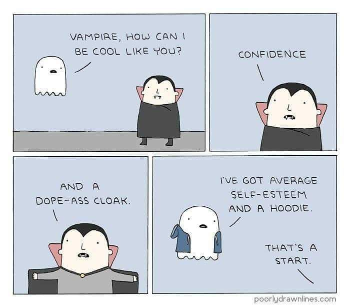 How to get cool. #vampire #ghost #comics #lol