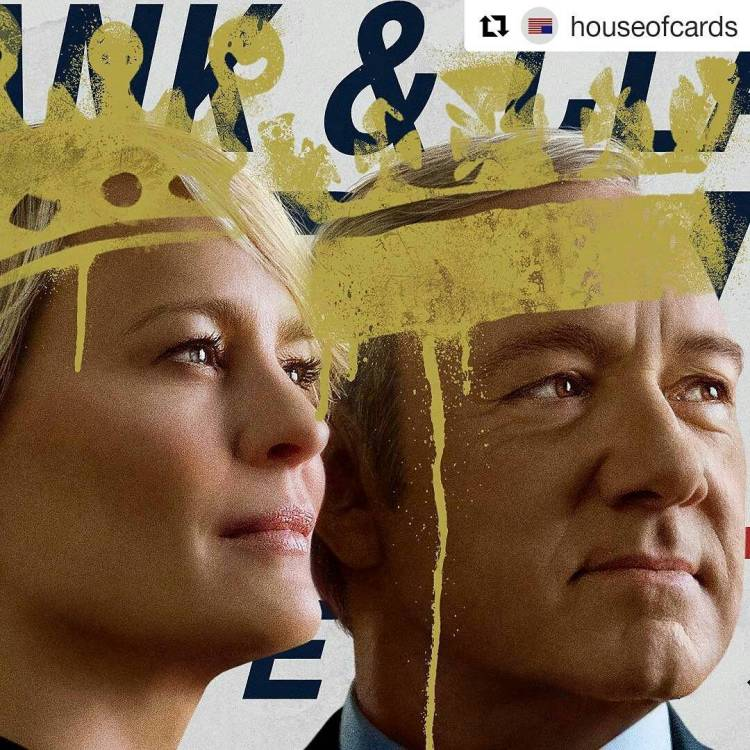 Started to watch house of cards. It really is very good! #Repost @houseofcards ・・・ We're here to protect you. #houseofcards #netflix