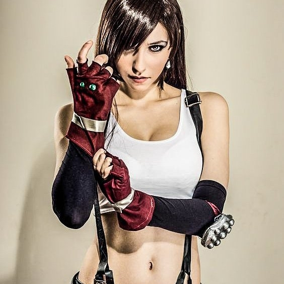 I love this pose.  regram @originalzeppy Tifa Lockhart from Final Fantasy. Prettier than the original. • • • • #gaming #game #videogame #jrpg #masterpiece #nerd #rpg #glorious #sony #playstation #ps4 #instagood #insta #gamer #fantasy #xbox #bosslife #videogaming #roleplaying #cosplay #cosplaying #dreamshot #patreon #thicc #cosplayer #costume #comics #tifa #finalfantasy #tifalockhart