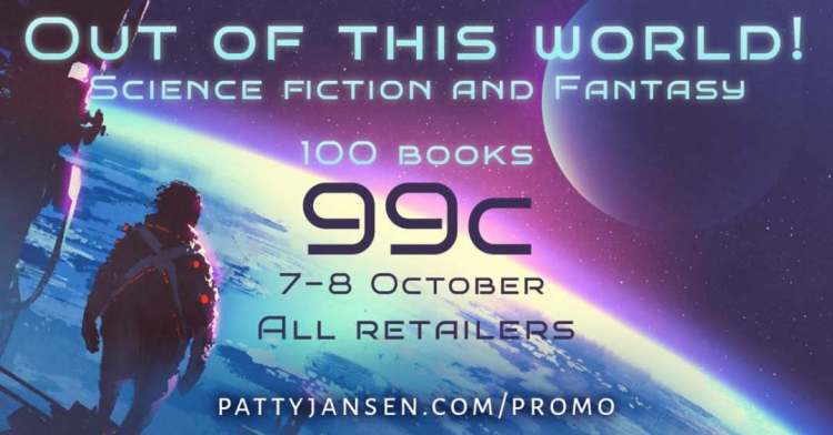 Do you read Sci-fi and fantasy? Get ebooks for 99 cents, find the link in my bio or go to 💣 http://www.pattyjansen.com/promo 📚 Available across all major retailers. Read more on the promo page. #smashwords #kobo #kindle #scifi #fantasy #99c #Fridayreads #reading #bookish #bookclub #book #writer #words #bookporn #bookworm #bookstagram #booklover #read #booksactually  #booktastic #bookgasm #freereads #booksworthreading #readinglist #bookswag #readingrainbow #dystopian #horror @kobobooks @barnesandnoble @amazonkindle @itunes