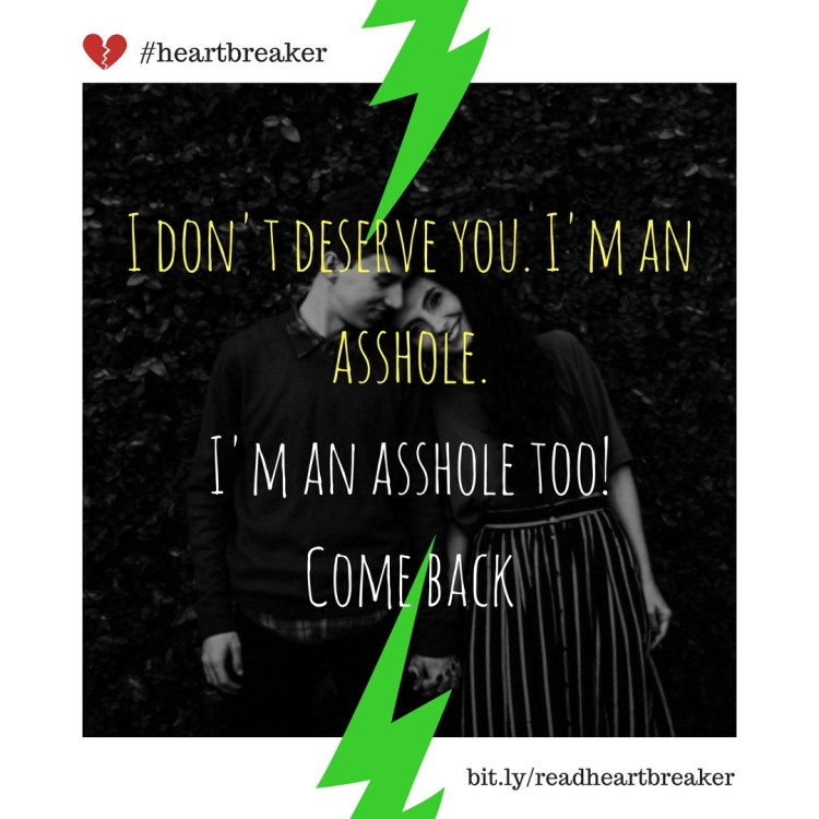 Start reading Heartbreaker, go to http://bit.ly/readheartbreaker or find the link in bio. Feel free to regram! #love #couple #kiss #hugs #romance #forever #girlfriend #boyfriend #gf #bf #bff #together #instalove #fun #smile #lol #meme #breakup #heartbreaker #instagram #bookstagram #kindle #blackhumor #eris #assholes