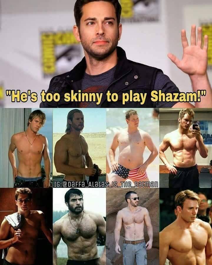 Chris Pratt is my spirit animal. The chubby, before version of him. #shazam #dc #marvel #actors