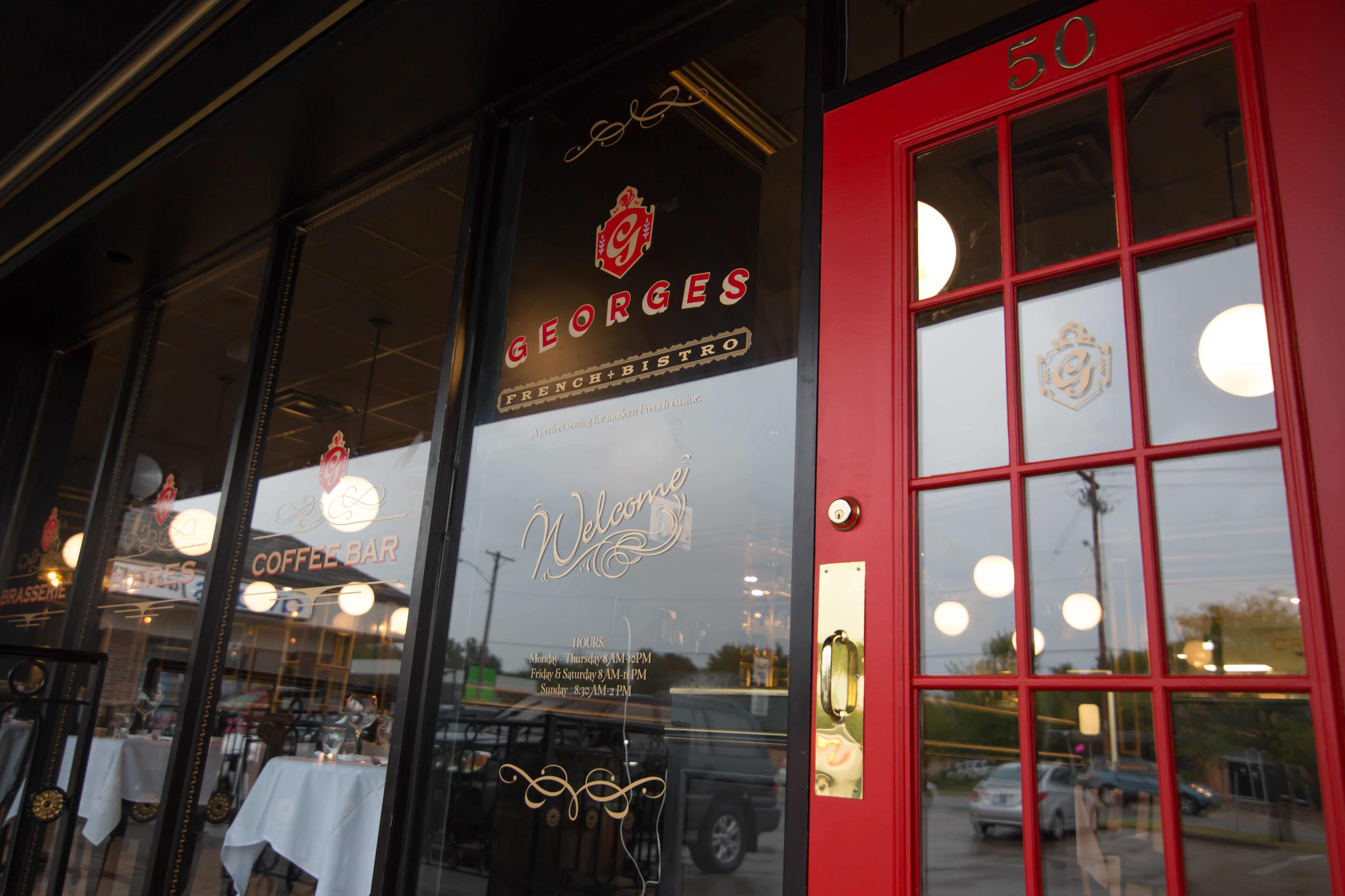 Georges French Bistro entrance Wichita KS
