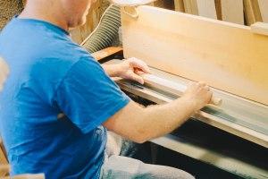 careful sanding custom made furniture lancaster