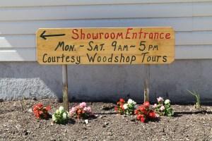 wood shop tours showroom store