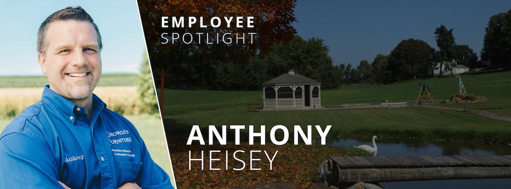 Employee Spotlight, Anthony Heisey