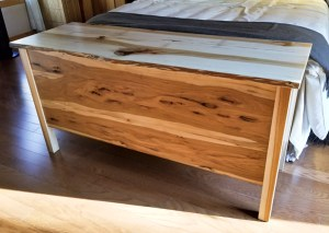 hickory hope chest with cedar lining