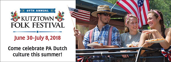 Attend the Annual Kutztown Folk Festival with George's