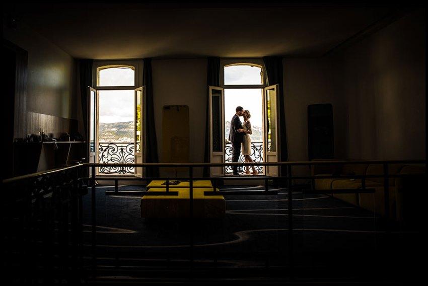 un mariage prestigieux à la villa Gaby à Marseille