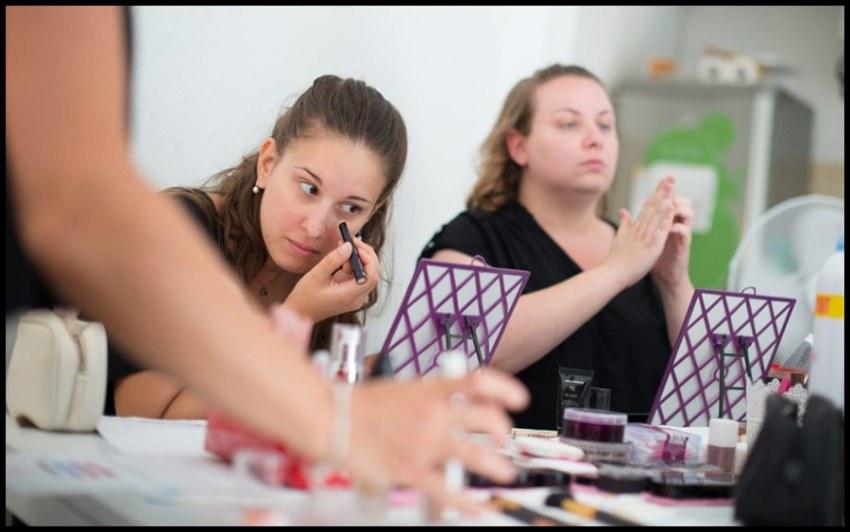 Un Atelier de Maquillage-Relooking d'une conseillère en image