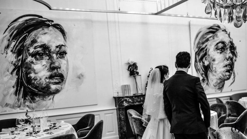 photographe pour mariage féérique au chateau de la gaude Aix en Provence