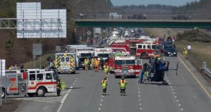 Georgetown Fire Department Responds to Serious Motor Vehicle Crash on I-95
