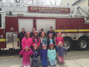 Photos: Georgetown Fire Department Welcomes Girl Scout Troop for Visit at Fire Station