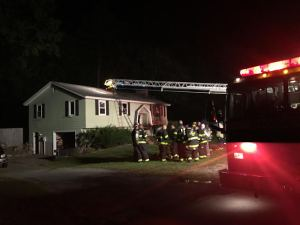 Georgetown Fire Department Extinguishes Early Morning House Fire on Charles Street