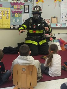 Photos: Georgetown Fire Teaches Smoke and Fire Safety at Elementary School